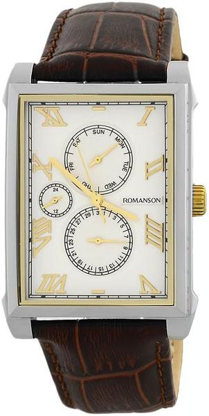 Мужские часы Romanson TL9225MC(WH) romanson tl 9225 mr wh