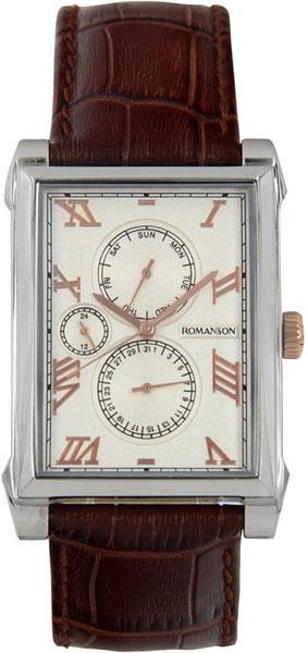 Мужские часы Romanson TL9225MJ(WH) romanson tm 9248 mj wh