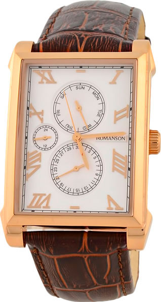 Мужские часы Romanson TL9225MR(WH) romanson tl 9225 mr wh
