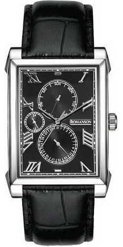 Мужские часы Romanson TL9225MW(BK) мужские часы romanson tl9225mw wh