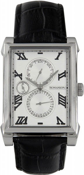 Мужские часы Romanson TL9225MW(WH) romanson tl 9225 mr wh