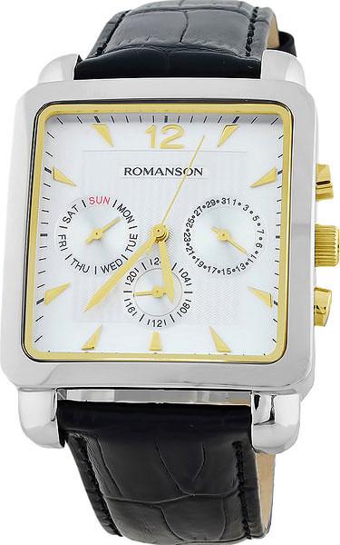 цена Мужские часы Romanson TL9244MC(WH) онлайн в 2017 году
