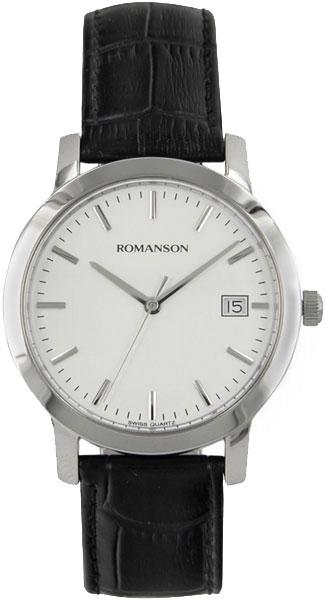 Мужские часы Romanson TL9245MW(WH) romanson tl 9225 mw wh