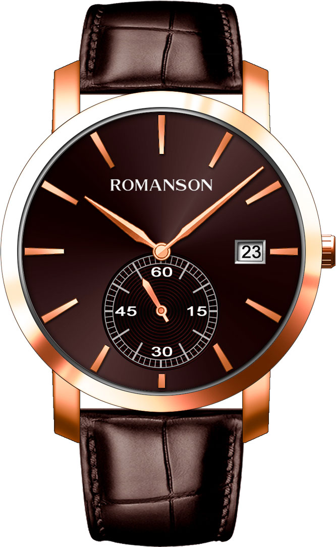 лучшая цена Мужские часы Romanson TL9A26MMMR(BN)