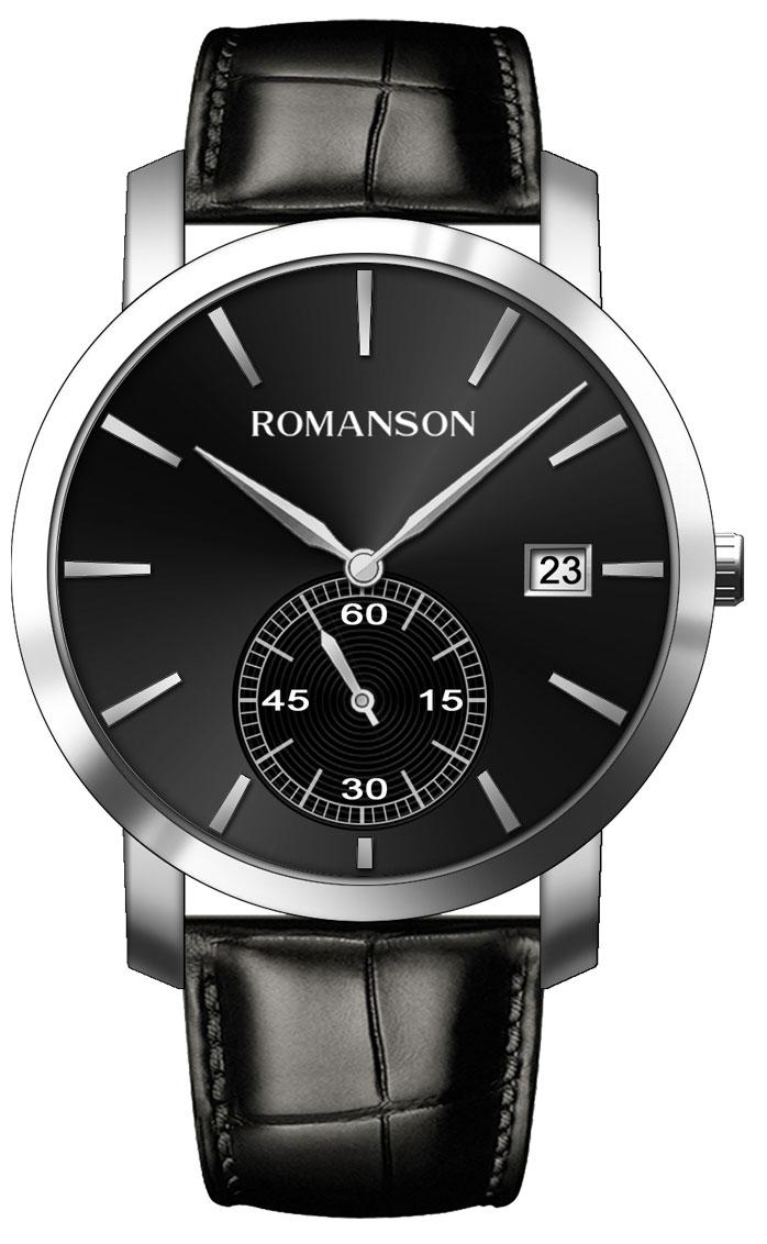 Мужские часы Romanson TL9A26MMMW(BK) мужские часы romanson tm8a19hmb bk
