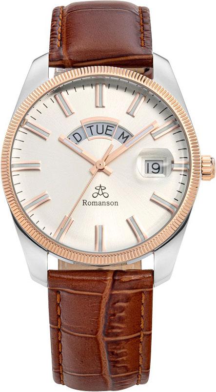Мужские часы в коллекции Adel Мужские часы Romanson TL9A28MMJ(WH)BR фото