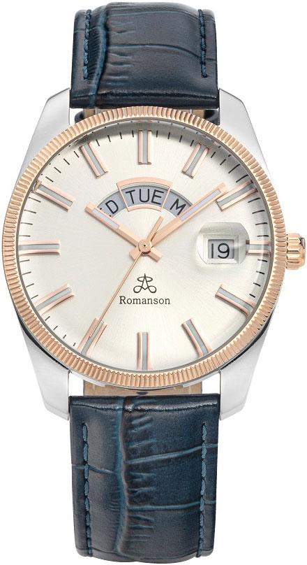 цена Мужские часы Romanson TL9A28MMJ(WH)BU онлайн в 2017 году