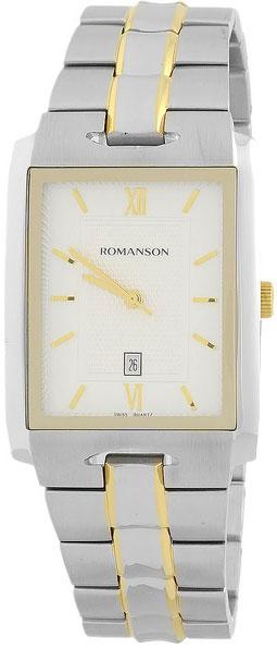 Мужские часы Romanson TM0186CXC(WH)