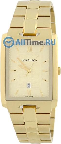 Мужские часы Romanson TM0186CXG(GD) romanson rm 9207q lj gd
