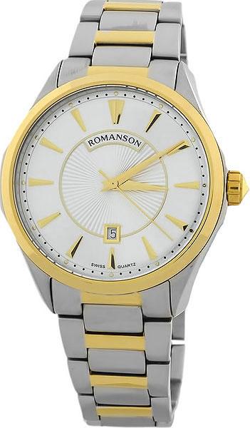 Мужские часы Romanson TM0337MC(WH) romanson tl 0337 mc wh