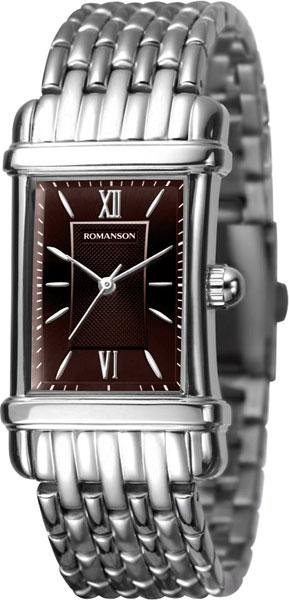 Мужские часы Romanson TM0338MW(BR) romanson tm 7a15f mw bu