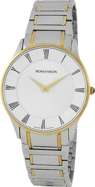 Мужские часы Romanson TM0389MC(WH) romanson tm 0389 mj wh