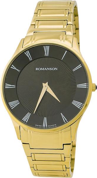 лучшая цена Мужские часы Romanson TM0389MG(BK)