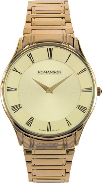 Мужские часы Romanson TM0389MG(GD) romanson tm 9248 mj wh