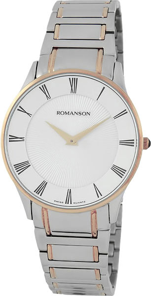 Мужские часы Romanson TM0389MJ(WH) romanson tm 4123h mj wh