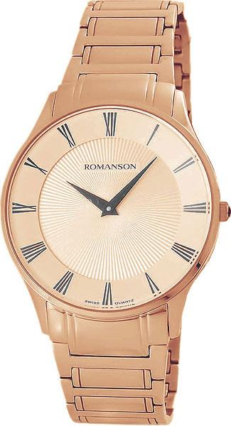 Мужские часы Romanson TM0389MR(RG) romanson tm 0389 mj wh