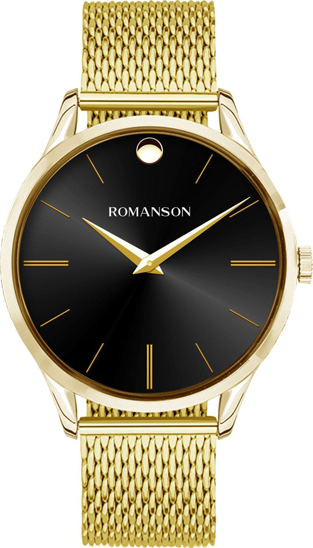 Мужские часы Romanson TM0B06MMG(BK)