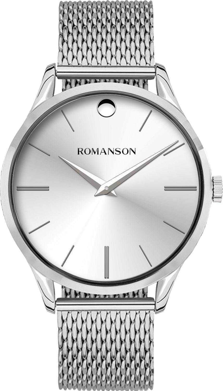 цена Мужские часы Romanson TM0B06MMW(WH) онлайн в 2017 году