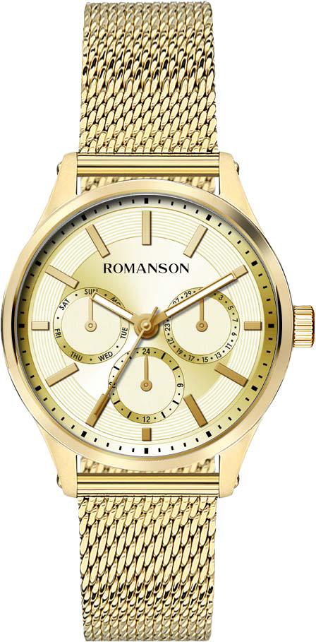 Женские часы Romanson TM0B10FLG(GD) женские часы romanson rm9a23llg gd