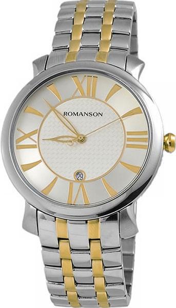 Мужские часы в коллекции Adel Мужские часы Romanson TM1256MC(WH) фото