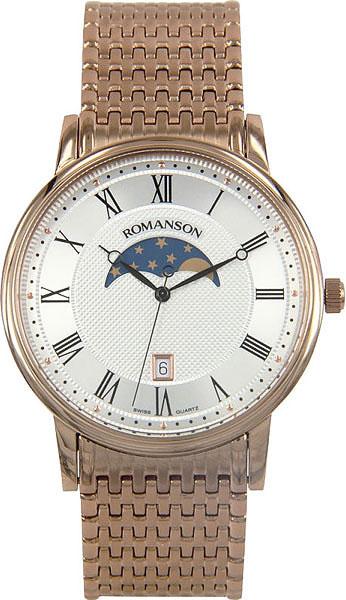 Мужские часы Romanson TM1274FMR(WH)