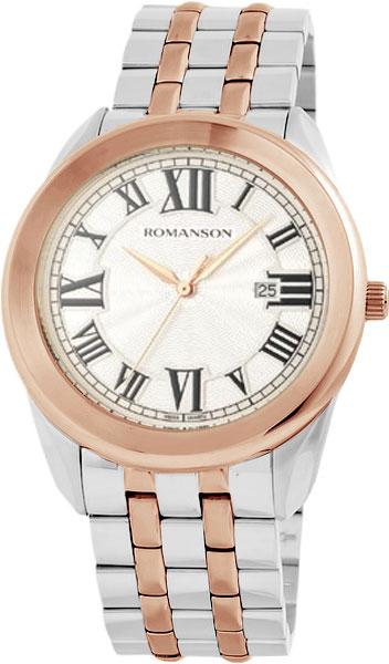Мужские часы Romanson TM2615MJ(WH) romanson tm 4123h mj wh