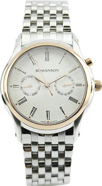 Мужские часы Romanson TM3211FMC(WH) romanson tm 9248 mj wh