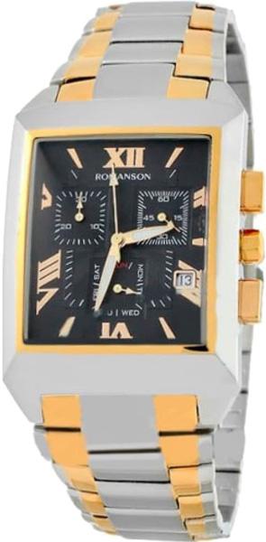 Мужские часы Romanson TM4123HMC(BK) напильник truper т 15240