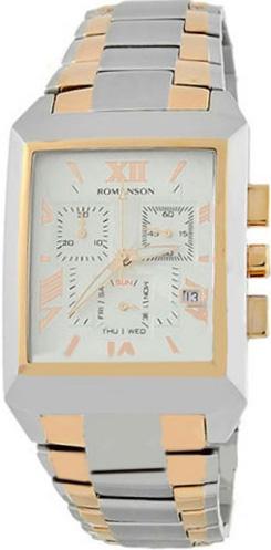 Мужские часы Romanson TM4123HMC(WH) напильник truper т 15240