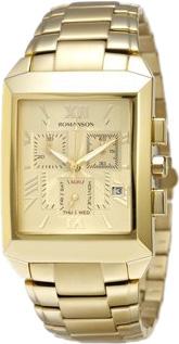 Мужские часы Romanson TM4123HMG(GD) мужские часы romanson tl0334mg gd