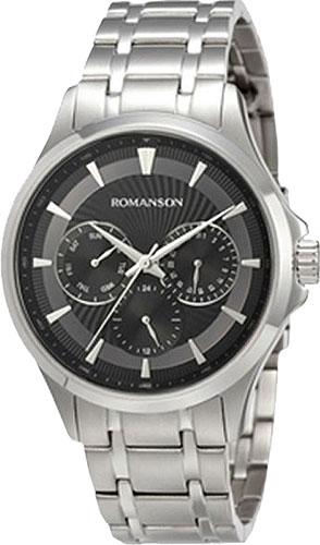 Мужские часы Romanson TM4222FMW(BK) цена и фото