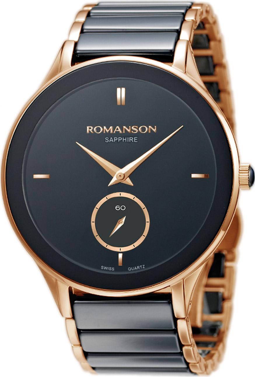 Мужские часы Romanson TM4236CMR(BK)