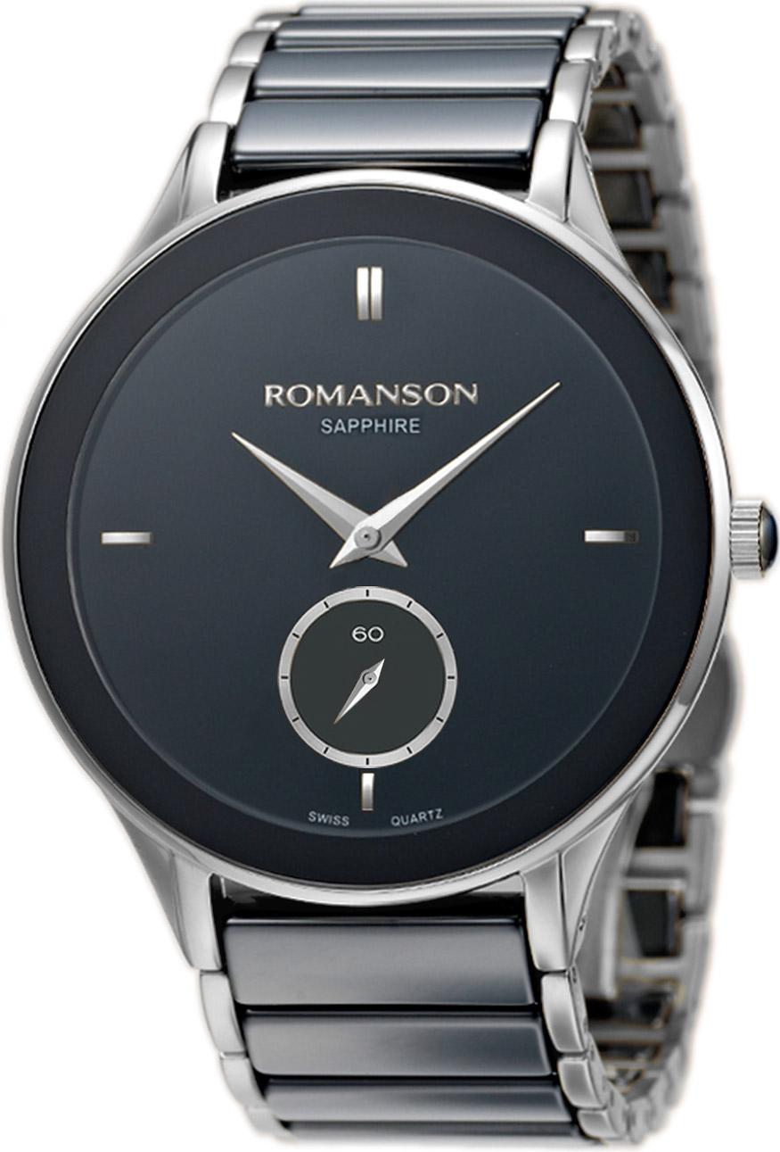 Мужские часы Romanson TM4236CMW(BK)