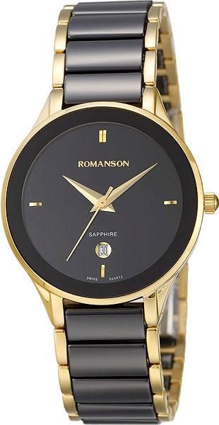 Женские часы Romanson TM4236LG(BK)