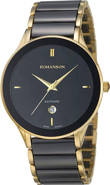 Мужские часы Romanson TM4236MG(BK)