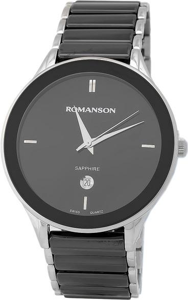 лучшая цена Мужские часы Romanson TM4236MW(BK)
