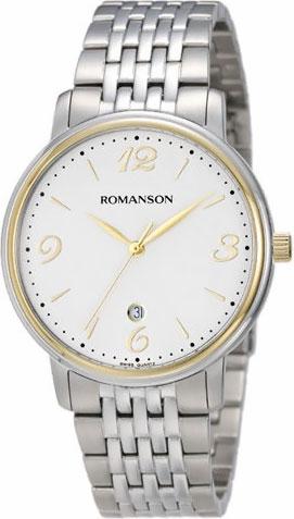 лучшая цена Мужские часы Romanson TM4259MC(WH)