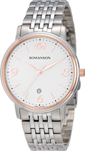 Мужские часы Romanson TM4259MJ(WH) romanson tm 4123h mj wh