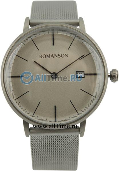 где купить Мужские часы Romanson TM4267MW(GR) дешево