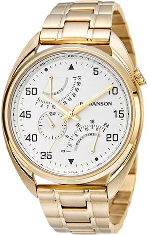 Мужские часы Romanson TM5A01FMG(WH)