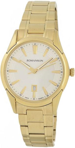 Женские часы Romanson TM5A20LG(WH) romanson tm 9248 mj wh