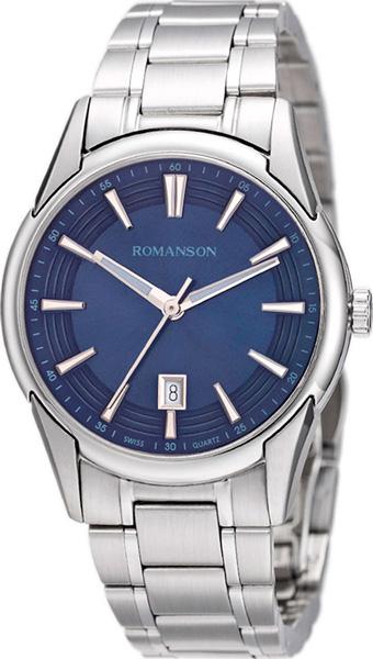 Мужские часы Romanson TM5A20MMW(BU) romanson tm 7a15f mw bu
