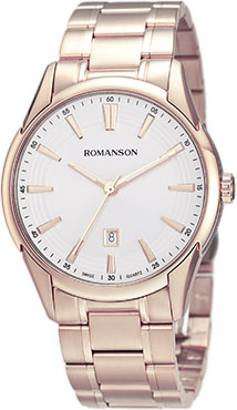 Мужские часы Romanson TM5A20MR(WH) romanson tm 8201r mr wh