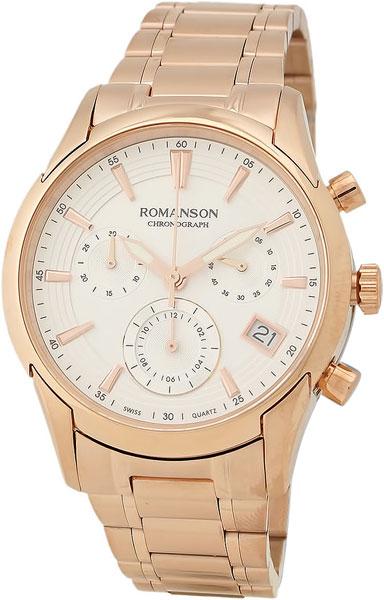 Женские часы Romanson TM5A21HLR(WH) romanson tm 9248 mj wh
