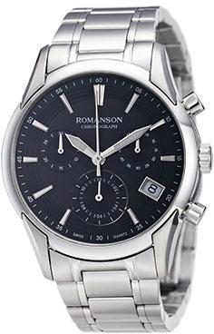 Женские часы Romanson TM5A21HLW(BK)