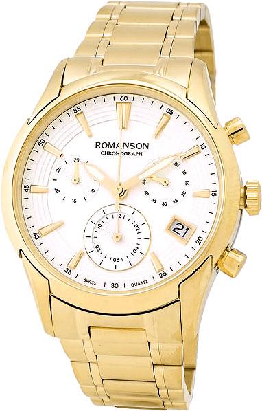 Мужские часы Romanson TM5A21HMG(WH) romanson tm 9248 mj wh