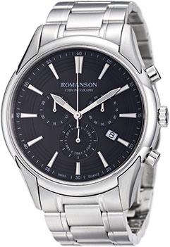 Мужские часы Romanson TM5A21HMW(BK) кий для пула cuetec 1 рс черный 21 076 57 5
