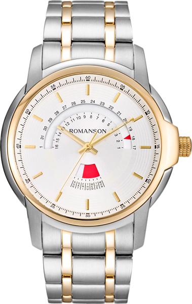 Мужские часы Romanson TM6A21CMC(WH) romanson tm 9248 mj wh