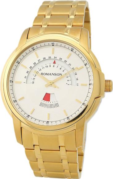 Мужские часы Romanson TM6A21CMG(WH) romanson tm 9248 mj wh