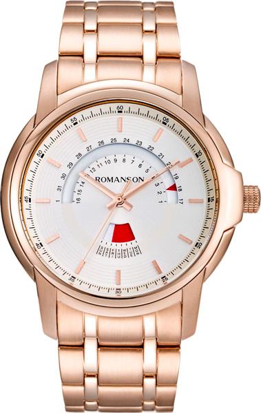 Мужские часы Romanson TM6A21CMR(WH) romanson tm 9248 mj wh